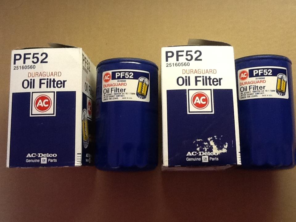 AC Oil Filters PF52 (25160560).JPG