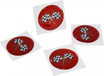84-87 Corvette Stock Wheel Spinner Kit ( 3 Emblems.jpg