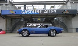 1972 Corvette 350 (slash) 200 Convertible - Bloomington Gold Benchmark, June 2018 - Steve and We.jpg