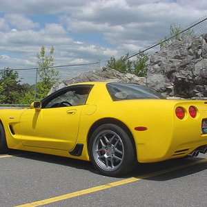 2001 Z06 - Rear Quarter View