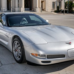 2002 Corvette Z06 in Quicksilver Metallic