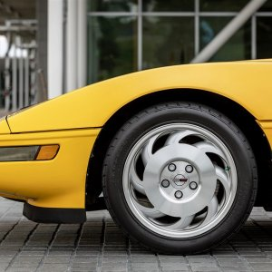 1993 Corvette Coupe in Competition Yellow