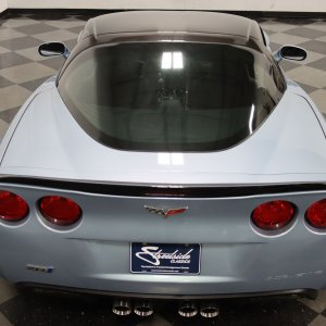2012 Corvette ZR1 in Carlisle Blue Metallic
