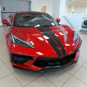 2021 Corvette Stingray Convertible in Red Mist