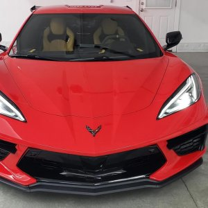 2020 Corvette Stingray Z51 Coupe in Torch Red