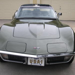 1970 Corvette Coupe in Donnybrook Green