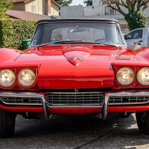 1966 Corvette Convertible in Rally Red