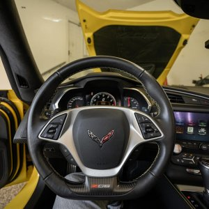 2016 Corvette Z06 Coupe in Corvette Racing Yellow