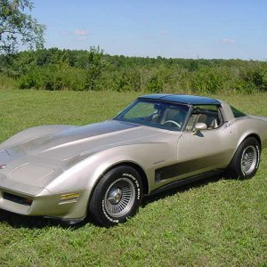 1982 Corvette - Collector's Edition - Side View