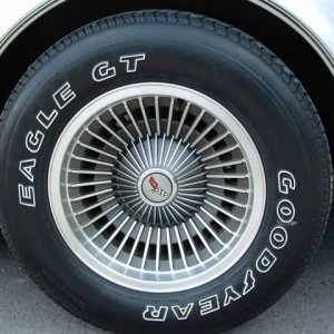 1982 Corvette - Collector's Edition Wheel