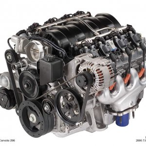 2006 LS7 Engine