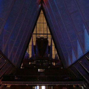 USAFA Chapel Interior (1 of 2)