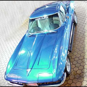 1964 Corvette Coupe - Ozzie Olson GM Styling Car