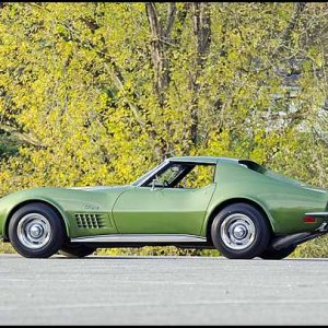 1972 Chevrolet Corvette ZR1