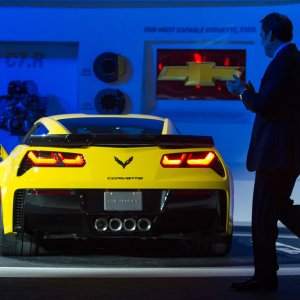 2015 Chevrolet Corvette Z06 Makes World Debut