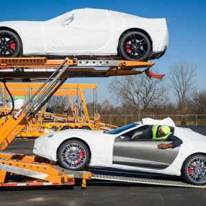 2015 Corvette Z06 Customer Deliveries
