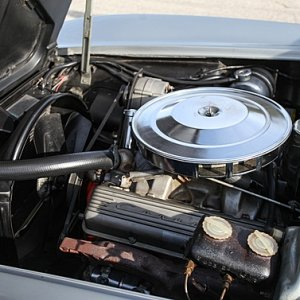 1965 Corvette Coupe Serial #001 4-Wheel Disc Brake Show Car