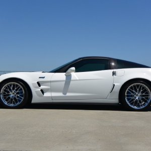 2011 Corvette ZR1 - Arctic White