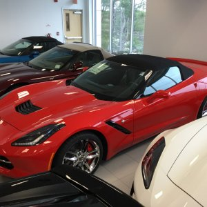 2016 Corvette Stingray Convertible Z51 - 2LT