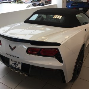 2016 Corvette Z51 Convertible - 2LT