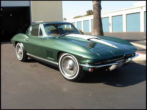 1967 Ed Cole COPO Corvette 2