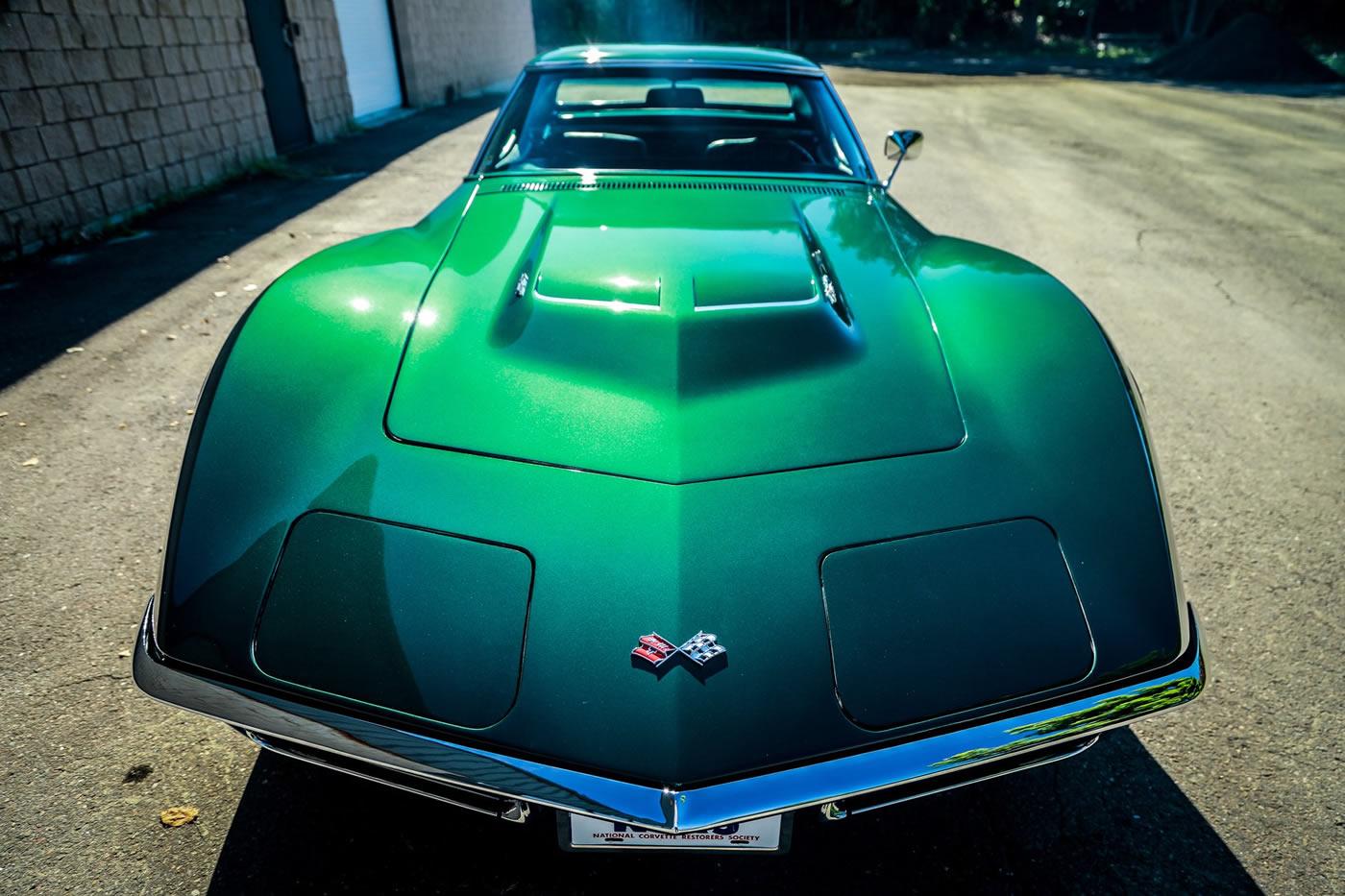 1968 Corvette in British Green